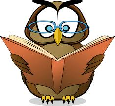 Owl Reading a Book Image