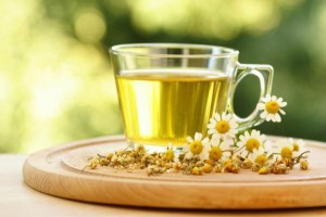 Chamomile Herbs and Tea for Sleep and Relaxation Image