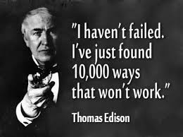 Thomas Edison's Famous Quote Image