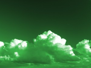 Green Clouds Image
