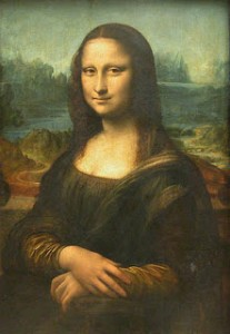 Mona Lisa Painting Image