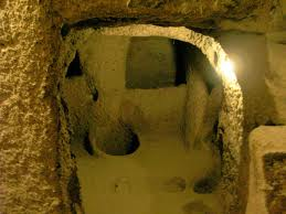 Rooms in the Underground City of Cappadocia Image