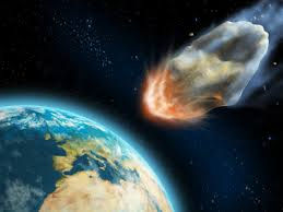 Asteroids Heading Towards Earth Image