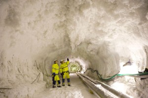People in a Soft Soil Tunnel Image