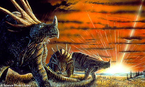 Asteroids Caused Dinosaur Extinction Image