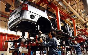 Car Making Factory Image