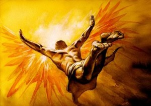 Icarus Flying Image - Science for Kids All About Daedalus and Icarus