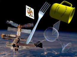 Space Junk Floating Around Image- Science for Kids All about Space Junk
