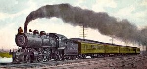 Steam Engine Train Running Image - Science for Kids All About Trains