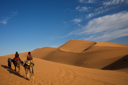 All about Algeria Fun Science Facts for Kids - the Sahara Desert