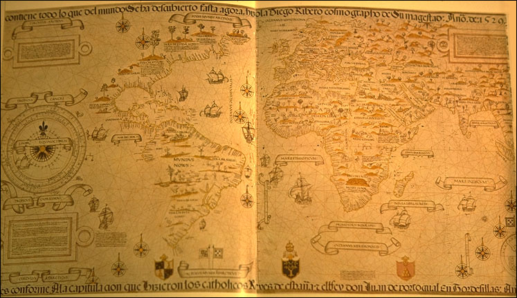All about Cartography Fun Science Facts for Kids - Image of an Early World Map