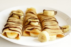 All about Crepes and Other French Foods Fun Facts for Kids - image of French Banana Crepes