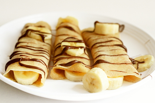 Crepes and Other French Foods