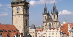 All about Czech Republic Easy Science for Kids - Image of the Prague Town Square in Czech Republic