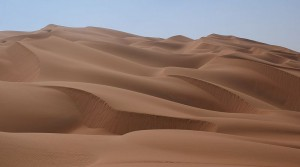 All about the Empty Quarter Fun Facts for Kids - Sand Dunes of the Empty Quarter image