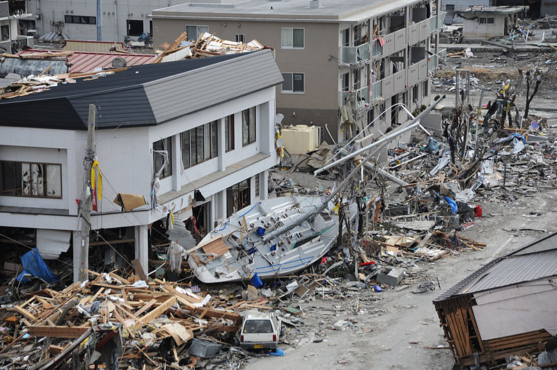 All about Japan for Kids - Image of the Japan Earthquake Damages
