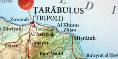 All about Libya Fun Facts for Kids - a Map of Tripoli City in Libya