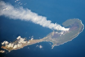 All about the Northern Marianas Fun Facts for Kids - Aerial View of the Pagan Island in Northern Marianas