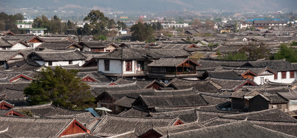 All about the Old Town Lijiang for Kids - Image of a Skyline in Old Town Lijiang
