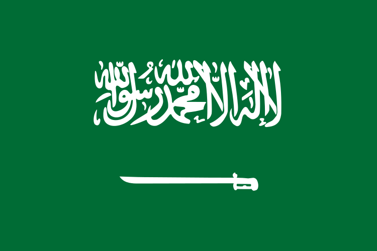 All about Saudi Arabia for Kids - National Flag of Saudi Arabia