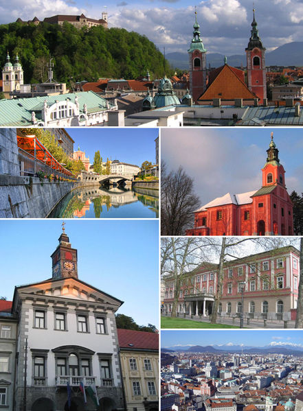All about Slovenia Fun Geography Facts for Kids - Pictures of the Ljubljana City of Slovenia