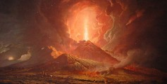 All about the Most Lethal Volcano Eruptions Fun Science Facts for Kids - an 18th Century Painting of the Vesuvius Eruption
