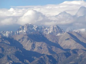 All about Tallest Mountains in the Continental United States for Kids - the Crestone Peak