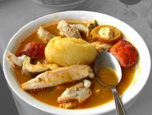Earth Science Fun Facts for Kids All About France - an image of a French Marseille Bouillabaisse