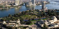Earth Science Fun Facts for Kids on the Top 10 Longest Rivers - The Nile River Passing Through Cairo image