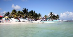 Easy Earth Science for Kids on Central America - Image of Belize Beach in Central America - Central America Worksheet