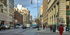 Easy Geography for Kids on City Life - image of the New York City Streets