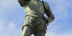Easy Geography for Kids on Famous Explorers - Image of the Statue of Ponce de Leon