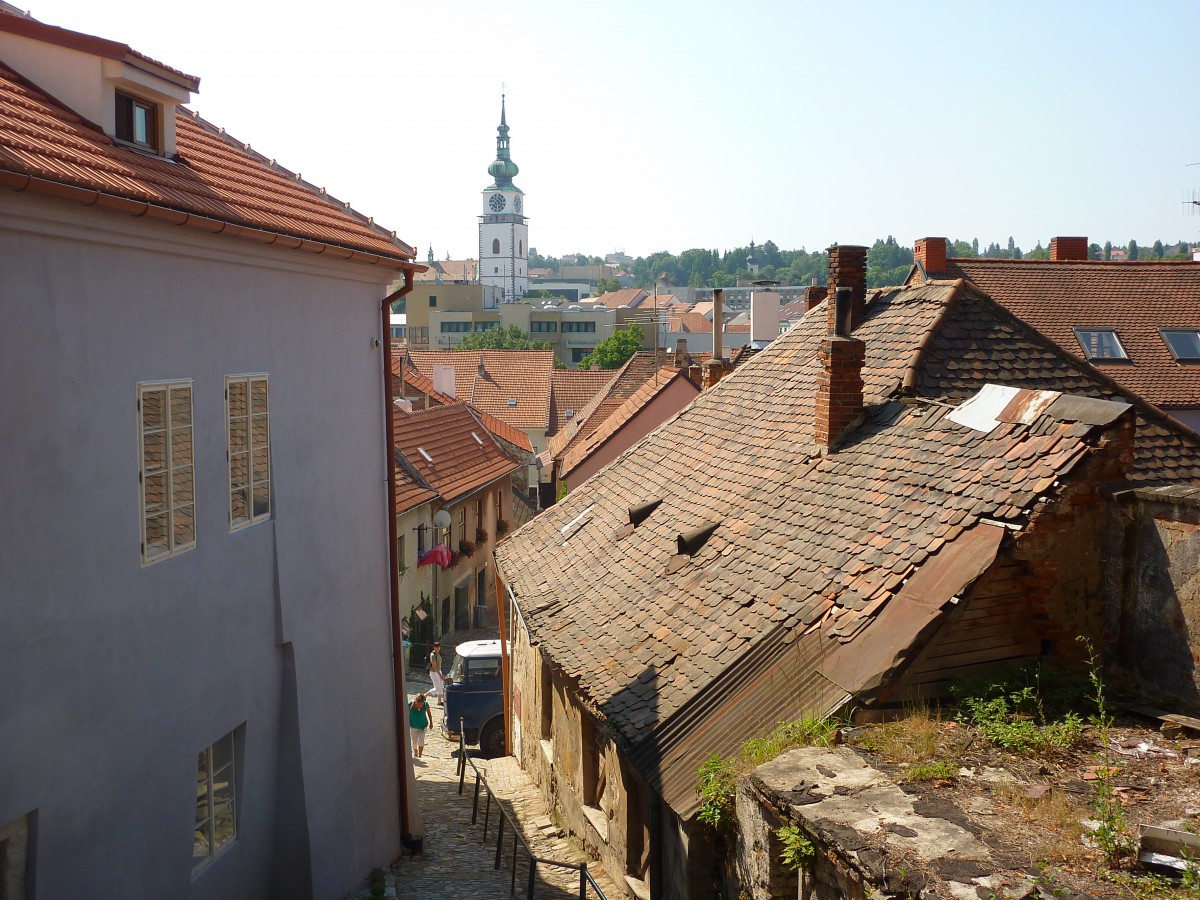 The Jewish Quarter in Trebic Czech Republic