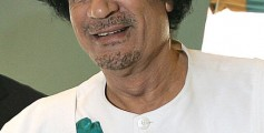 Fun Earth Science Facts for Kids on Libya - Image of Libyan Ruthless Dictator Muammar Gaddafi