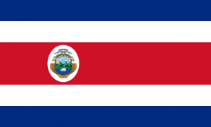 Fun Earth Science for Kids All About Costa Rica - the National Flag of Costa Rica