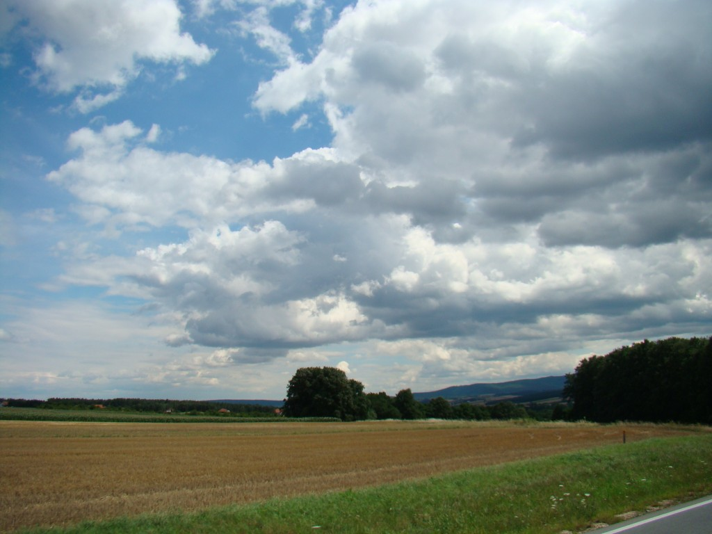 Fun Facts for Kids on Austria - Landscape of Burgenland in Austria