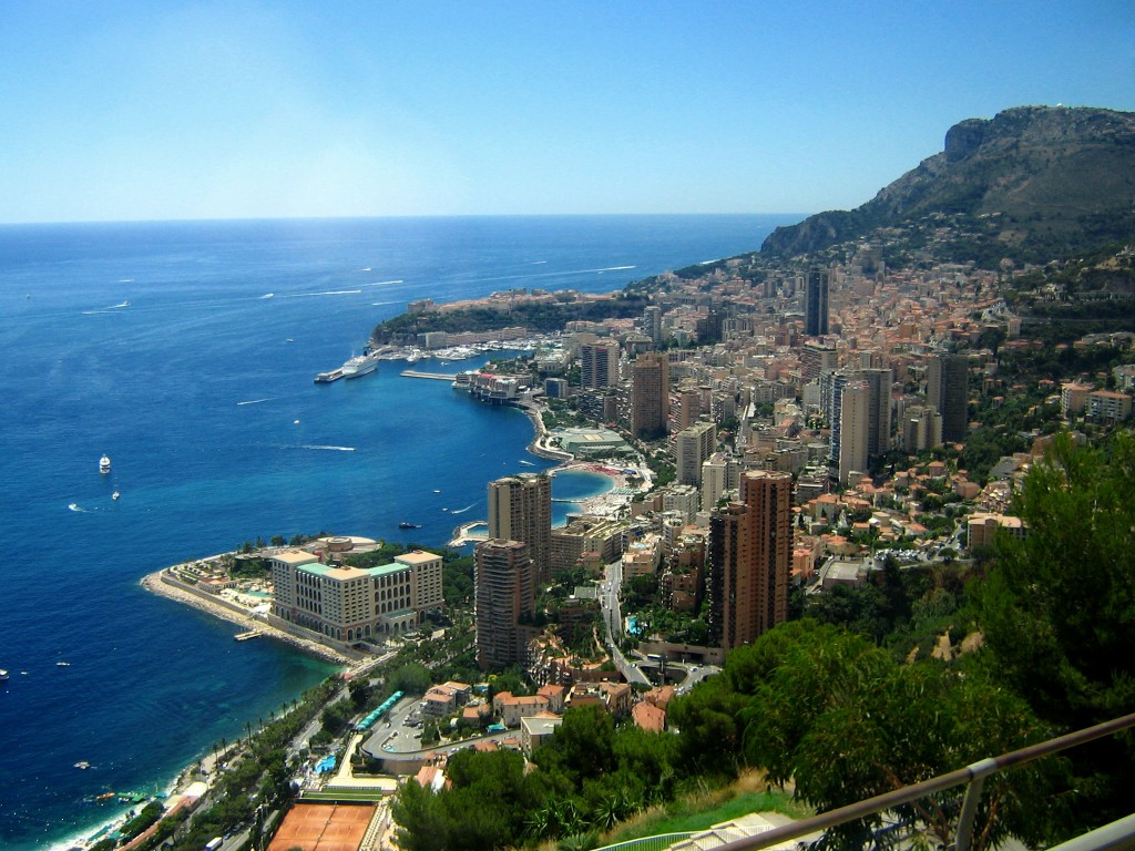 Fun Facts for Kids on Monaco - Image of a City in Monaco