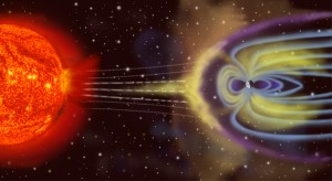 Fun Geography Facts for Kids All about Earth's Magnetism - Earth's Magnetic Field Protecting Earth from the Sun's Rays image