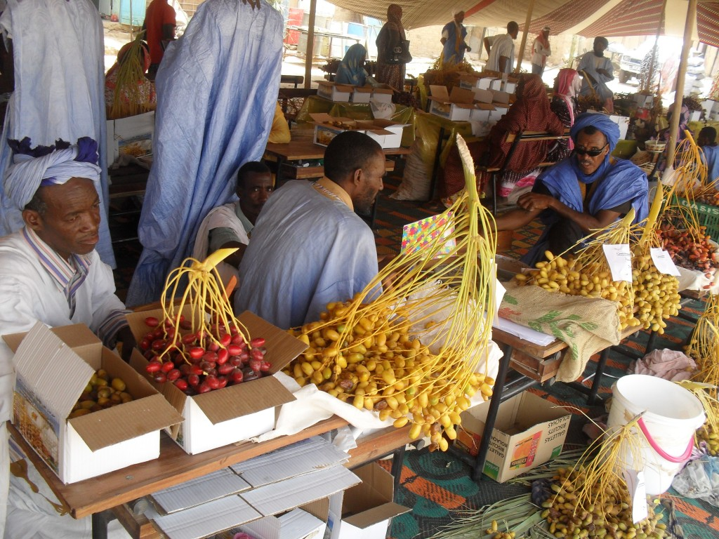 Fun Geography Facts for Kids on Mauritania - Image of the Mauritanian Market
