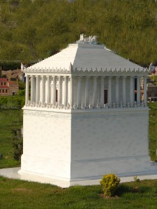 Fun Geography Facts for Kids on the Seven Wonders of the Ancient World - the Tomb of Maussollos at Halicarnassus