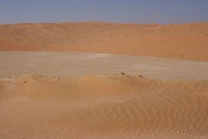 Fun Geography Facts for Kids All about Top 10 Hottest Places on Earth - image of Sand Dunes in Rub' Al Khali