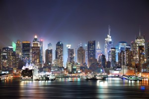 Fun Geography for Kids All about Top 10 Largest Cities in the World - Image of a Cityscape at Night