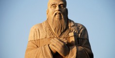 Fun Kids Science Facts on Who Was Confucius - a Statue of Confucius in Hunan, China