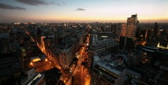 Fun Science for Kids on Argentina - Image of a Skyline in Buenos Aires Argentina