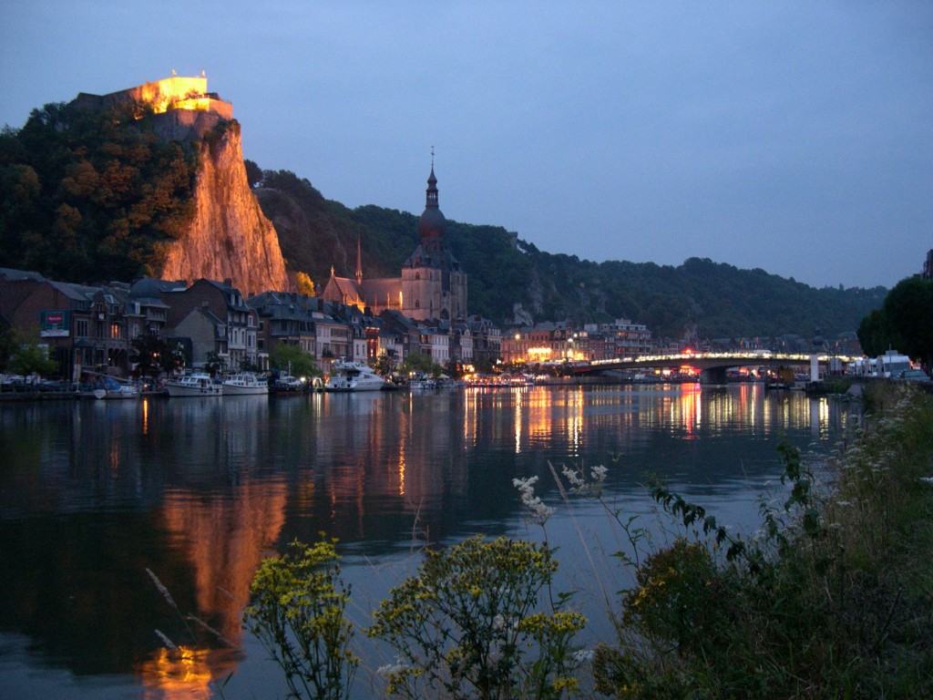 Geography Fun Facts for Kids on Belgium - the Dinant Skyline in Belgium
