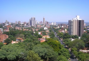 Geography Fun Facts for Kids on Paraguay - Image of Asuncion City the Capital of Paraguay