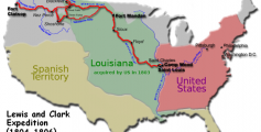 Kids Science Fun Facts on Lewis and Clark - the Route of the Lewis and Clark Expedition