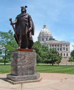 Science for Kids Website on Leif Eriksson - Statue of Leif Eriksson Near the Minnesota State Capitol
