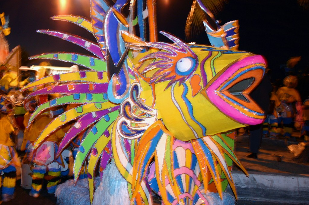 Simple Science for Kids on Bahamas - Image of the Junkanoo Festival in Bahamas