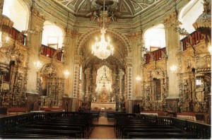 Simple Science for Kids on Brazil - the Interior of a Roman Catholic Church in Brazil